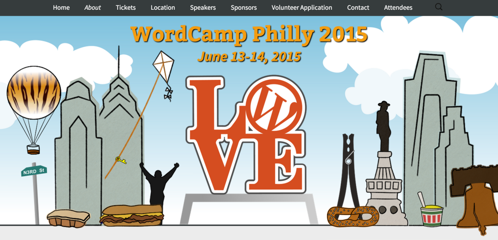 WordCamp Philly Banner