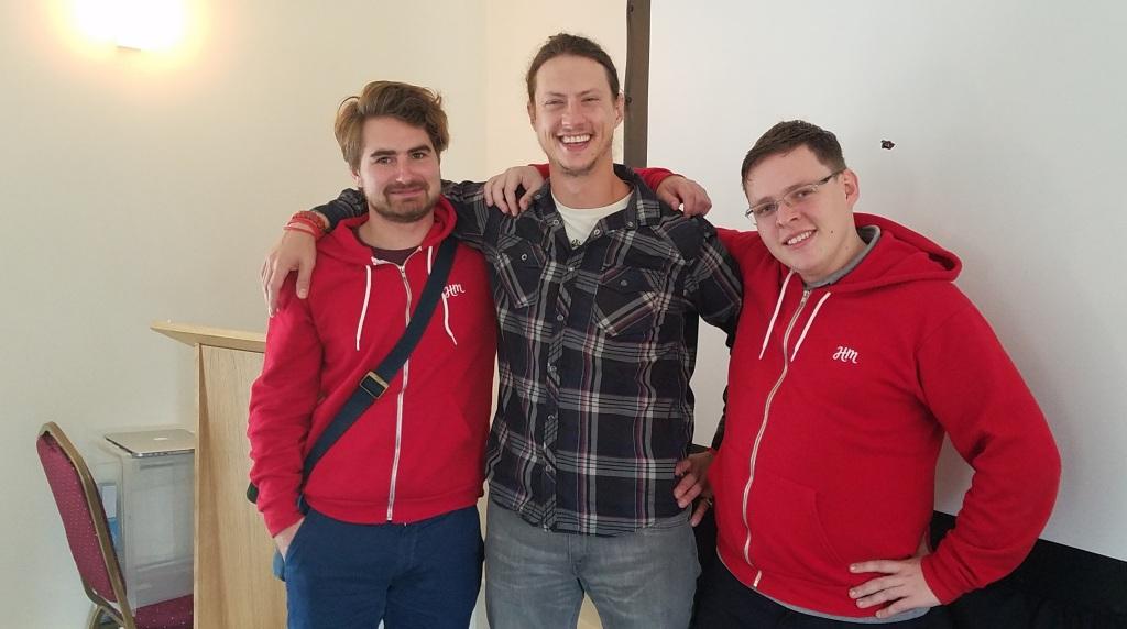 Joe, Ryan and Zac