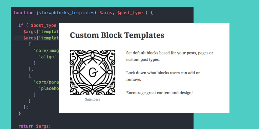 How to Add Block Templates to Your WordPress Theme or Plugin Gutenberg