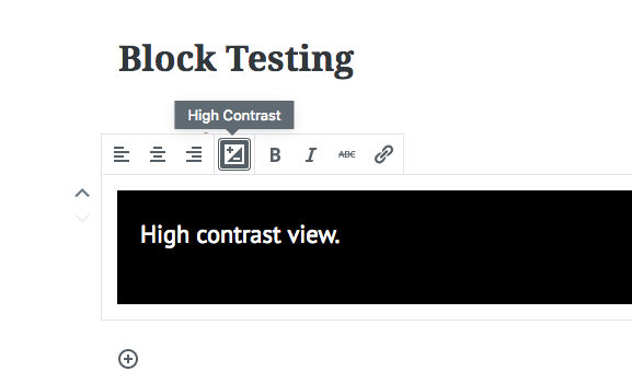 Custom Tooltip Button in Gutenberg WordPress with JavaScript