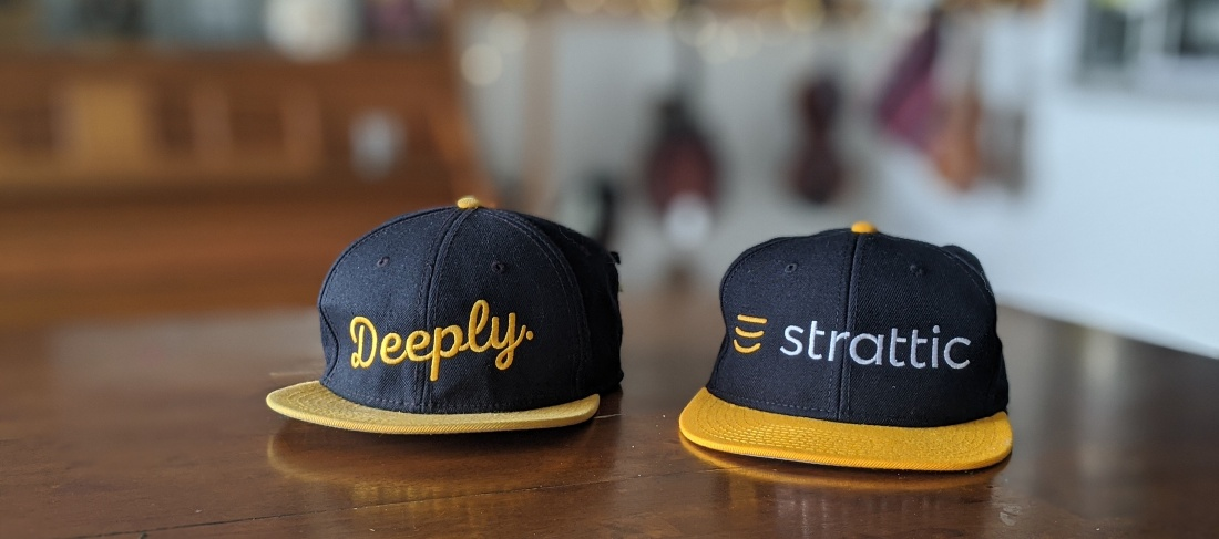 Deeply and Strattic Hats